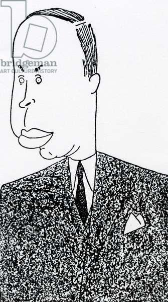 Sergei Prokofiev caricature