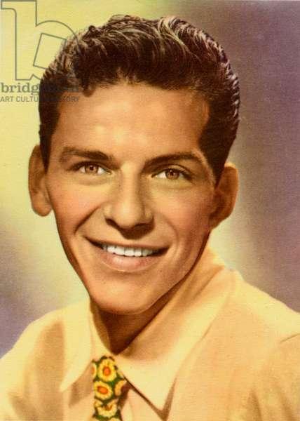 Frank Sinatra young portrait