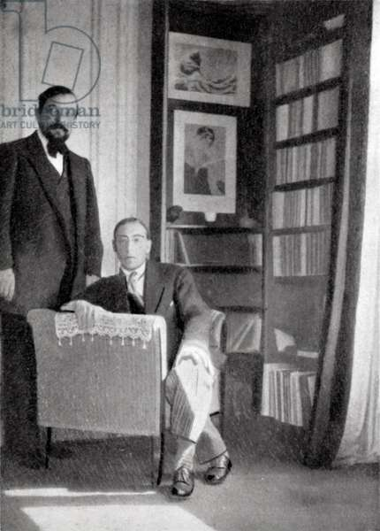 Debussy and Stravinsky in 1910