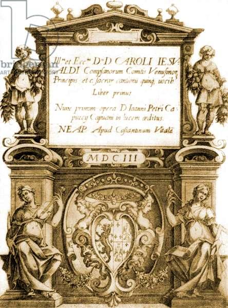 'Sacrae Cantiones' by Gesualdo da Venosa