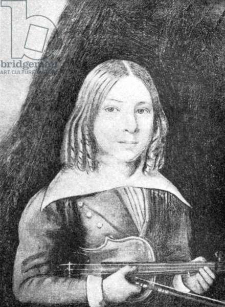 Joseph Joachim - portrait