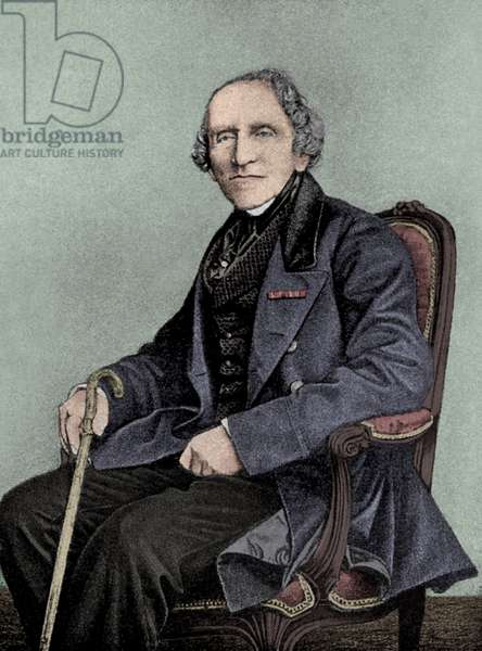 Giacomo Meyerbeer in last years of his life