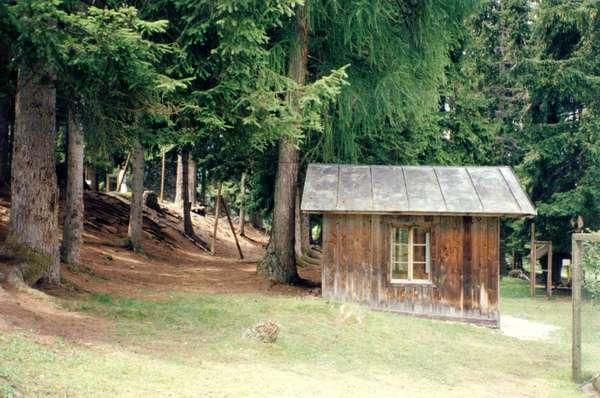 Mahler Composing hut at