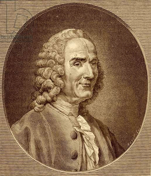 Jean-Philippe Rameau by Aved in