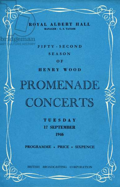 Programme cover for 52nd