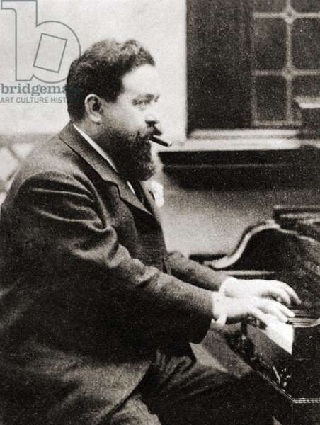 Isaac  ALBENIZ playing