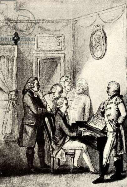 Wolfgang Amadeus Mozart at