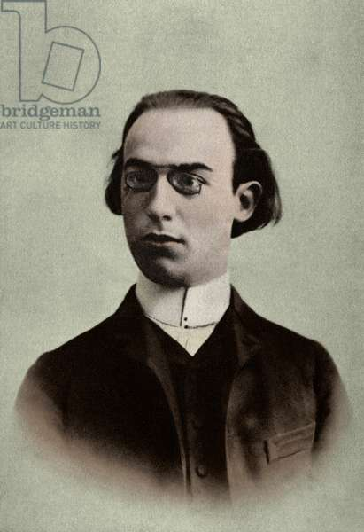 SATIE Erik in 1886