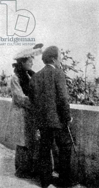 MAHLER Gustav with his wife