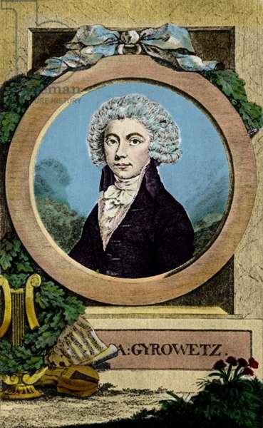Adalbert (Vojtech) Gyrowetz (Jirovec)