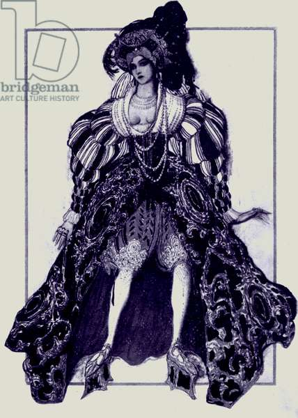 Richard Strauss  'Josephs Legende' costume design