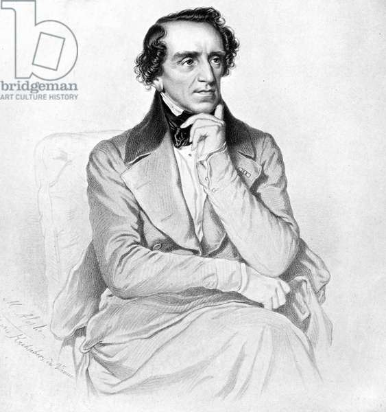 Giacomo Meyerbeer portrait German