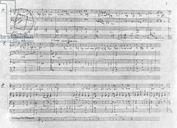 Richard Strauss score for 'Arabella'