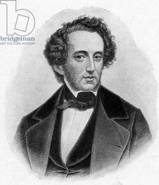 Felix Mendelssohn portrait German