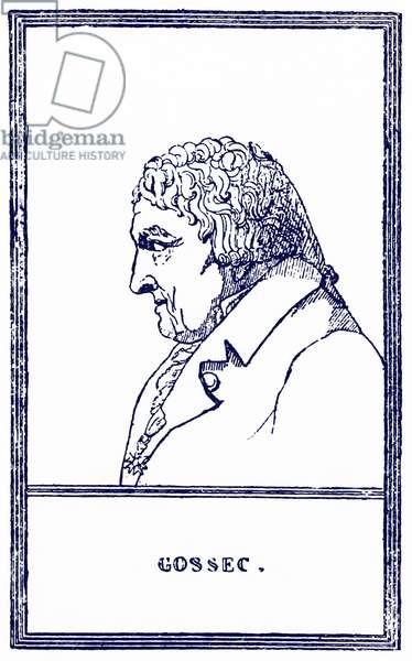 GOSSEC Francois Joseph Belgian-French
