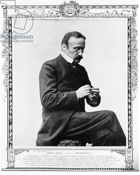 Arrigo Boito - portrait