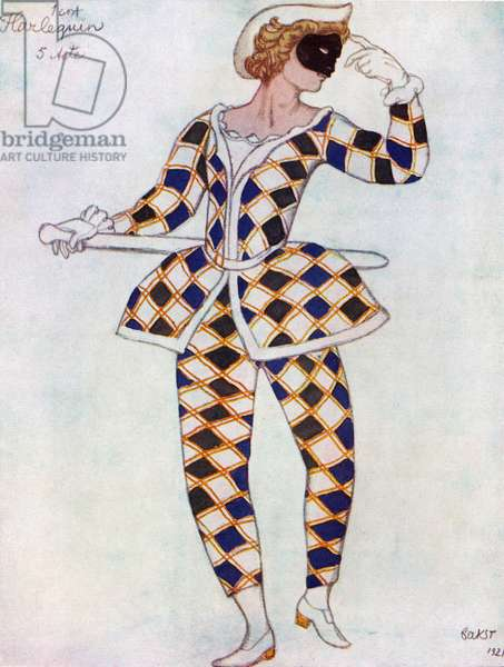 Costume for the Harlequin