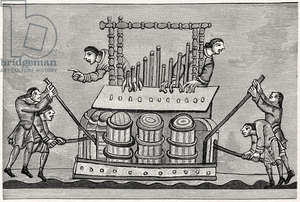 Organ AD 1130-1174 Several