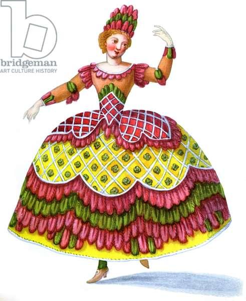 18th century ballet dancers
