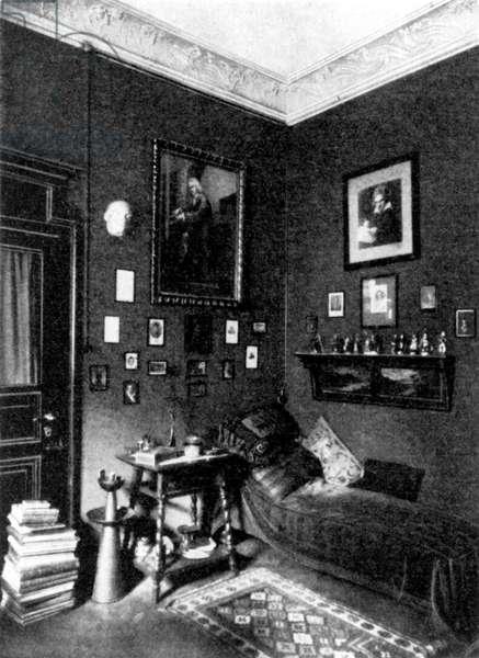 Max Reger's work room