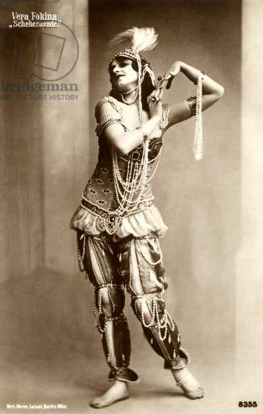 RIMSKY-KORSAKOV  ballet SCHEHERAZADE