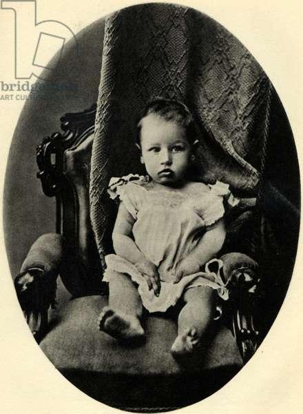 Igor Stravinsky aged one