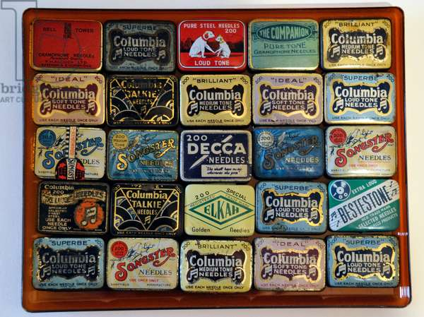 Decorative boxes for gramophone