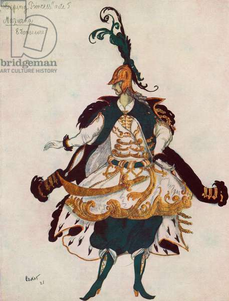Costume for Mazurka Dancer