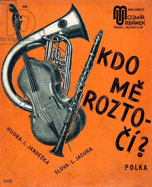 Instrument composition on score