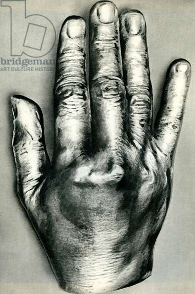 Richard Wagner's hand