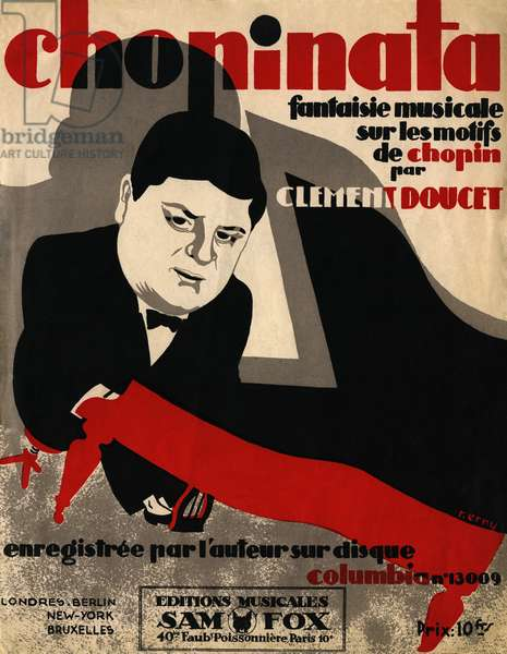 Chopinata Score Cover
