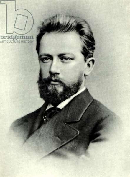 Pyotr I Tchaikovsky portrait