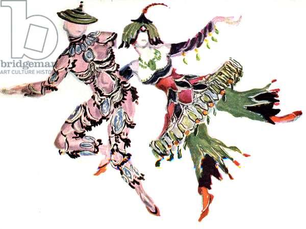 Cimarosiana costume design 1924