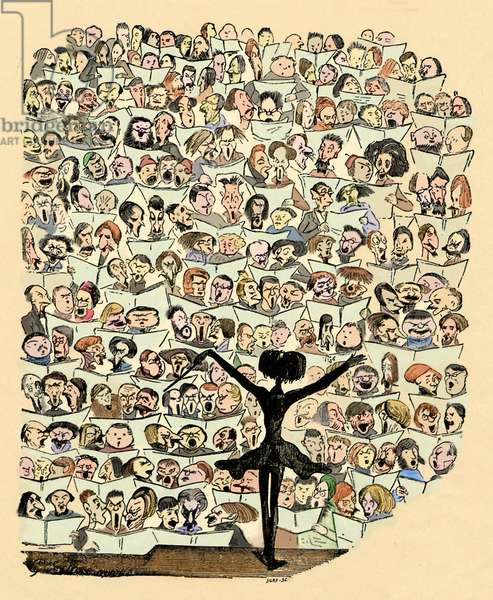 Hector Berlioz caricature