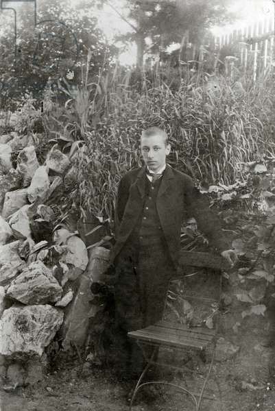 Igor Stravinsky  aged