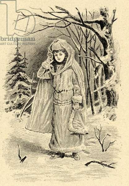 Illustration of La Snegurotchka