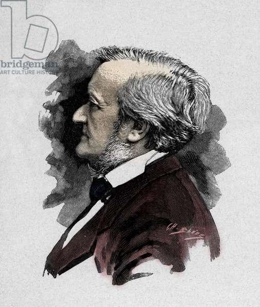 Richard Wagner - engraving