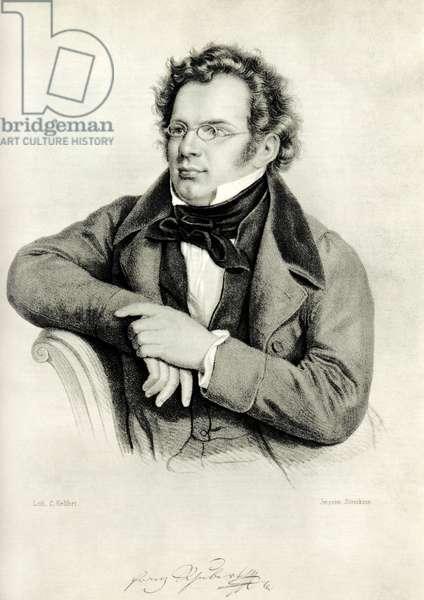 Franz Schubert - portrait