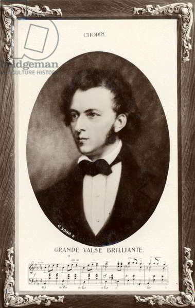 Frédéric Chopin portrait with