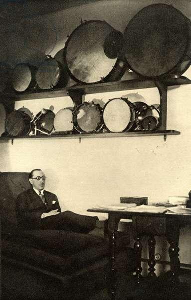 Igor Stravinsky  in