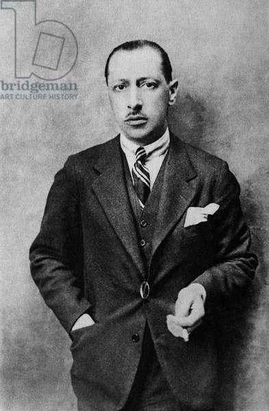 Igor Stravinsky in 1929