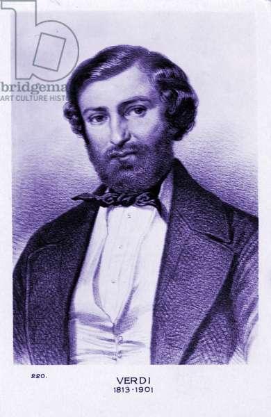 Giuseppe Verdi c1850 Italian