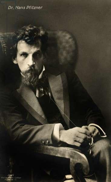 Hans Pfitzner portrait German