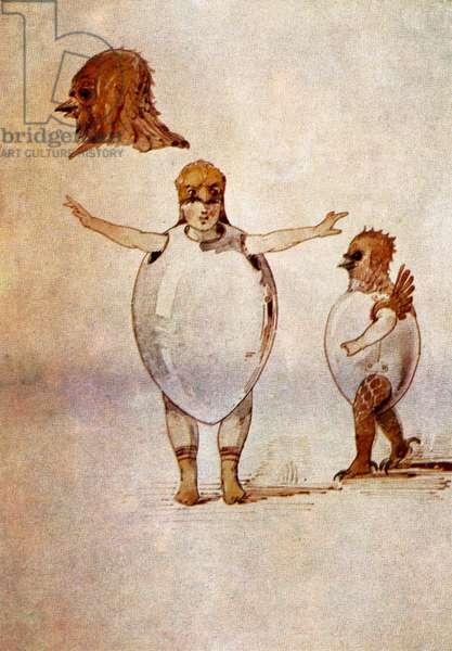 Victor Hartmann's costume sketch