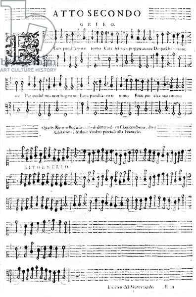 'Orfeo' by Claudio Monteverdi