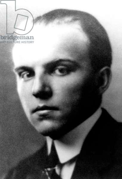 Ernst Krenek - portrait