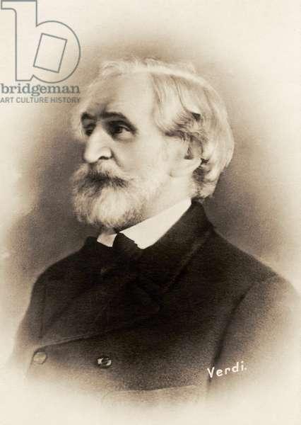 Giuseppe Verdi portrait Italian