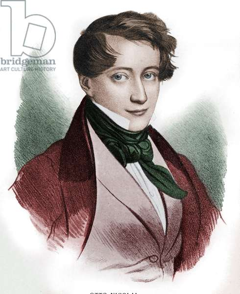 Otto Nicolai - portrait