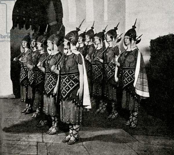 Princess Ida - ladies of Castle Adamant
