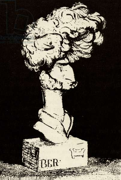 Hector Berlioz caricature by